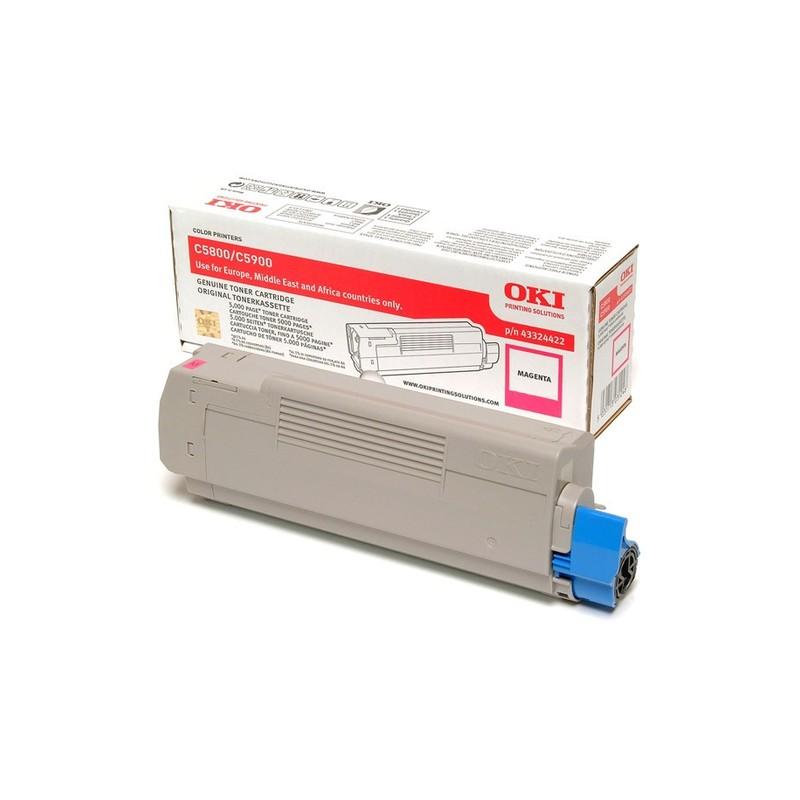 OKI 43324422 toner cartridge Original Magenta 1 pc(s)