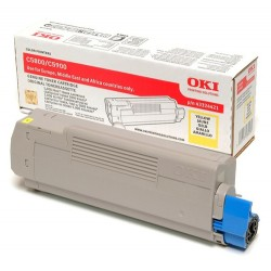 OKI 43324421 toner cartridge Original Yellow 1 pc(s)