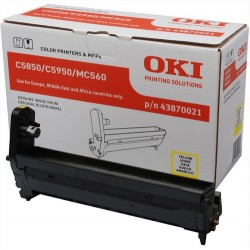 OKI Yellow image drum for C5850/5950 printer drum Original