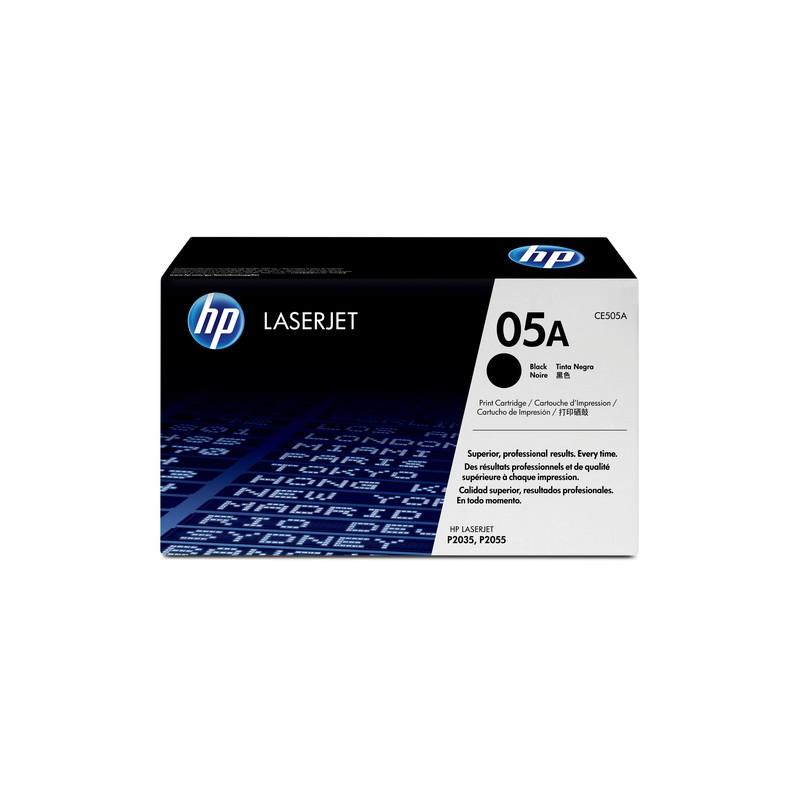 HP 05A Original Black 1 pc(s)