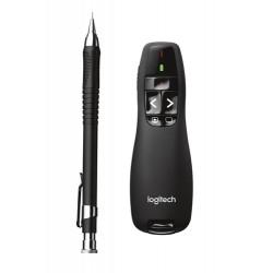 Logitech R400 wireless presenter RF Black