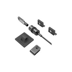 DELL 461-10185 cable lock Silver