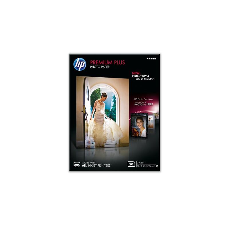 HP Premium Plus Glossy Snapshot photo paper Gloss