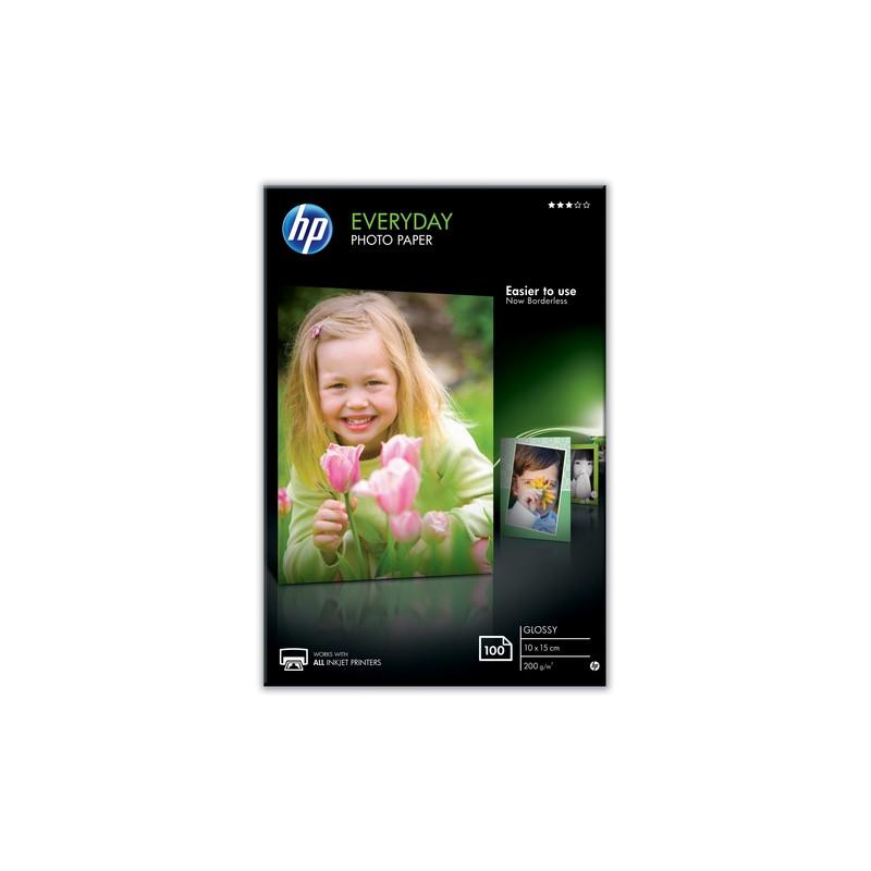HP Everyday photo paper White Gloss