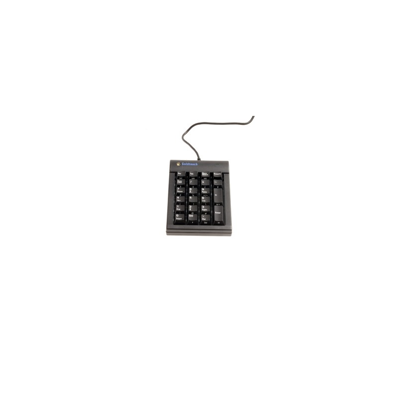 BakkerElkhuizen Goldtouch keyboard USB Numeric Black