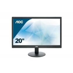 """e2070Swn/19.5""""LED 1600x900 VGA 5ms blk"""