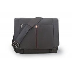 "Verbatim Berlin notebook case 40.6 cm (16"") Messenger case Black"