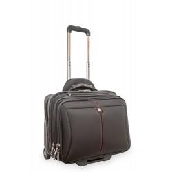 "Verbatim Frankfurt notebook case 39.6 cm (15.6"") Trolley case Black"