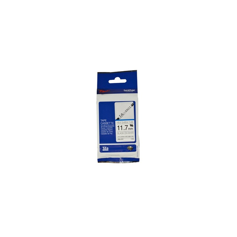 Brother HSE-231 label-making tape TZe