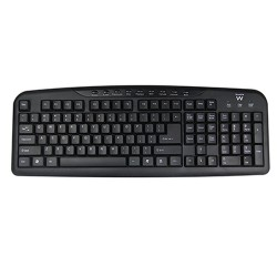 Ewent EW3130 keyboard USB QWERTY English Black