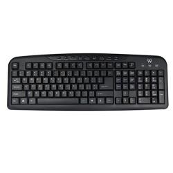 Ewent EW3130 keyboard USB QWERTY English Black