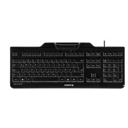 keyboard/with integrated smart card