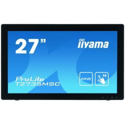 "iiyama ProLite T2735MSC-B2 touch screen monitor 68.6 cm (27"") 1920 x 1080 pixels Multi-touch"