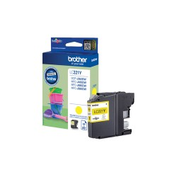 Brother LC-221Y ink cartridge Original Yellow 1 pc(s)