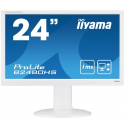 "iiyama ProLite B2480HS-W2 LED display 59.9 cm (23.6"") Full HD Flat Matt White"