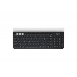 Logitech K780 keyboard RF Wireless + Bluetooth QWERTY US International Black,White