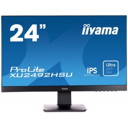 "iiyama ProLite XU2492HSU LED display 60.5 cm (23.8"") 1920 x 1080 pixels Full HD Flat Matt Black"