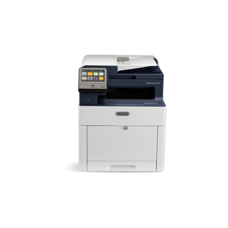 Xerox WorkCentre 6515 Colour Multifunction Printer, Print/Copy/Scan/Email/Fax, A4, 28/28Ppm, Duplex, Usb/Ethernet/Wireless, 250-