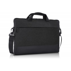 "DELL PF-SL-BK-5-17 notebook case 38.1 cm (15"") Sleeve case Black,Grey"