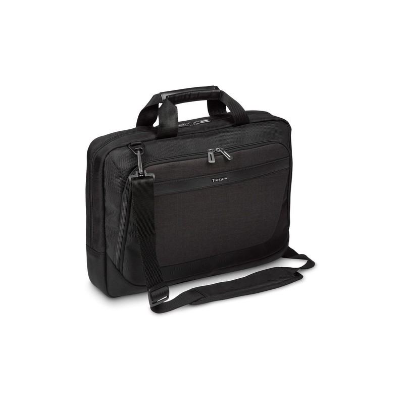 "Targus CitySmart notebook case 39.6 cm (15.6"") Briefcase Black,Grey"