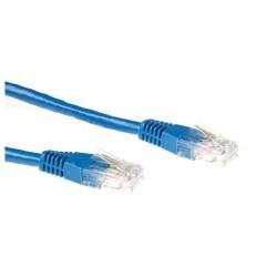 Ewent 2.0m Cat6 UTP networking cable 2 m U/UTP (UTP) Blue