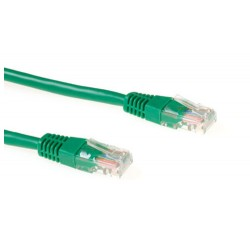 Ewent 0.5m Cat5e UTP networking cable U/UTP (UTP) Green