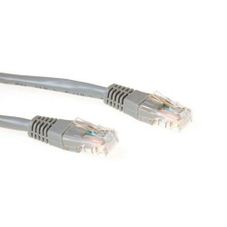 Ewent IM6001 networking cable 1 m Cat5e U/FTP (STP) Grey