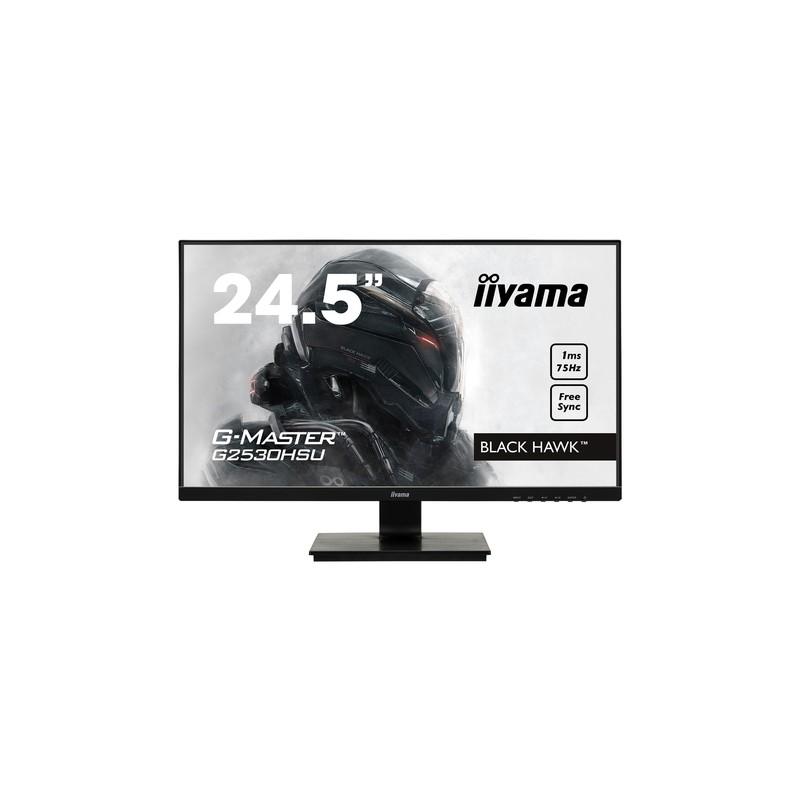 """iiyama G-MASTER G2530HSU-B1 LED display 62.2 cm (24.5"""") 1920 x 1080 pixels Full HD Flat Matt Black"""