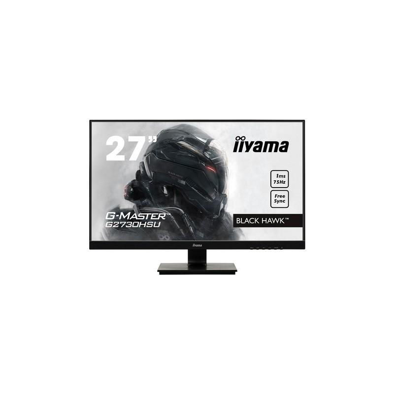 """iiyama G-MASTER G2730HSU-B1 LED display 68.6 cm (27"""") 1920 x 1080 pixels Full HD Flat Matt Black"""