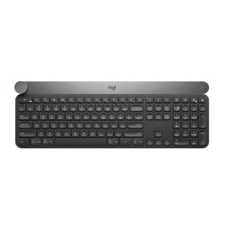 Logitech Craft keyboard RF Wireless + Bluetooth QWERTY US International Black,Grey