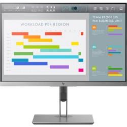 "HP EliteDisplay E243i LED display 61 cm (24"") 1920 x 1200 pixels WUXGA Flat Black,Silver"
