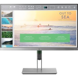 "HP EliteDisplay E233 LED display 58.4 cm (23"") 1920 x 1080 pixels Full HD Flat Black,Silver"