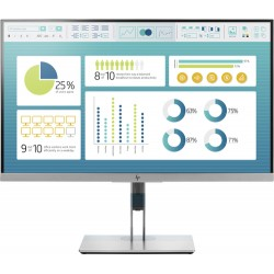 "HP EliteDisplay E273 LED display 68.6 cm (27"") 1920 x 1080 pixels Full HD Flat Black,Silver"
