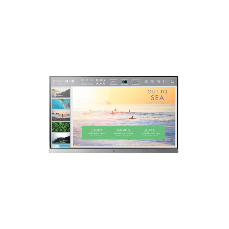 "HP EliteDisplay E233 HO LED display 58.4 cm (23"") 1920 x 1080 pixels Full HD Flat Black,Silver"