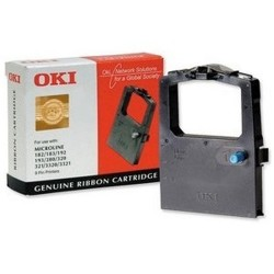 OKI 09002303 printer ribbon Black