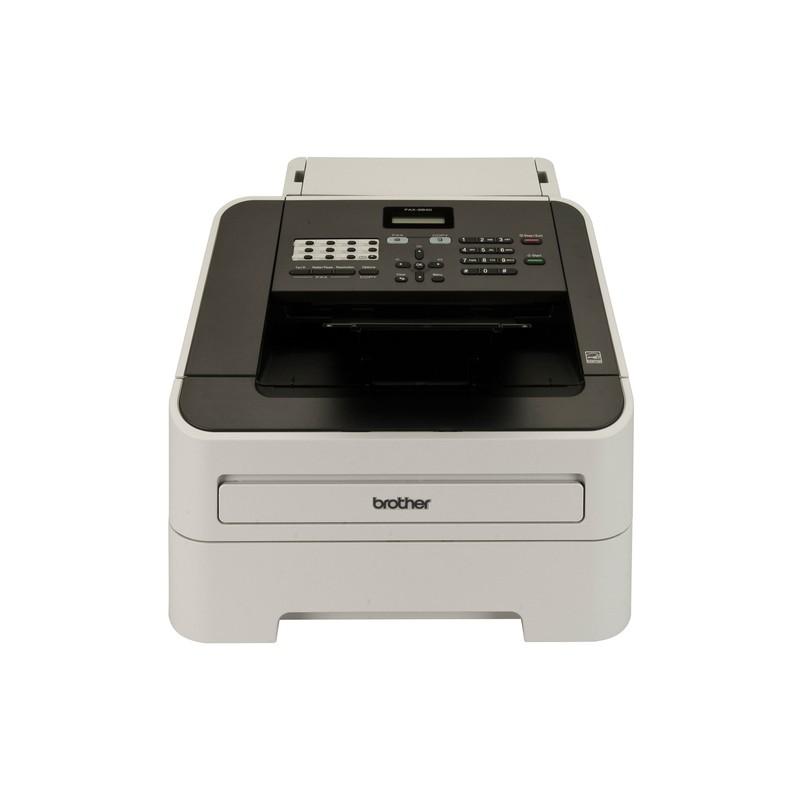 Brother FAX-2840 fax machine Laser 33.6 Kbit/s A4 Black,Grey