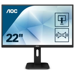 "AOC Pro-line 22P1D LED display 54.6 cm (21.5"") 1920 x 1080 pixels Full HD Flat Matt Black"