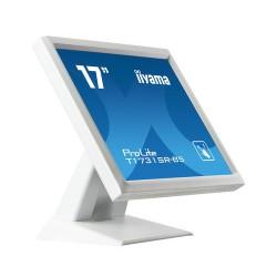 "iiyama ProLite T1731SR-W5 touch screen monitor 43.2 cm (17"") 1280 x 1024 pixels White Single-touch"