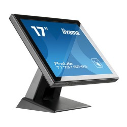 "iiyama ProLite T1731SR-B5 touch screen monitor 43.2 cm (17"") 1280 x 1024 pixels Black Single-touch"