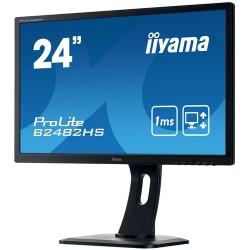 "iiyama ProLite B2482HS-B1 computer monitor 61 cm (24"") Full HD LED Flat Matt Black"
