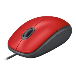 Logitech M110 mouse USB Optical 1000 DPI Ambidextrous