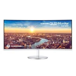 """Samsung C34J791WTU LED display 86.4 cm (34"""") 3440 x 1440 pixels UltraWide Quad HD Curved Grey"""