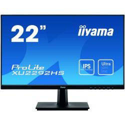 "iiyama ProLite XU2292HS-B1 LED display 54.6 cm (21.5"") 1920 x 1080 pixels Full HD Flat Black"