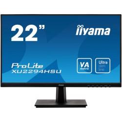 "iiyama ProLite XU2294HSU-B1 LED display 54.6 cm (21.5"") 1920 x 1080 pixels Full HD Flat Matt Black"