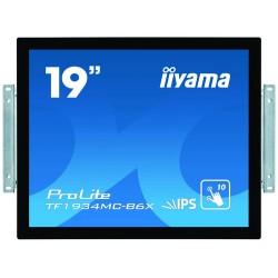"iiyama ProLite TF1934MC-B6X touch screen monitor 48.3 cm (19"") 1280 x 1024 pixels Black Multi-touch Multi-user"