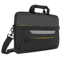 "Targus City Gear notebook case 35.6 cm (14"") Briefcase Black"