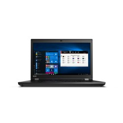 "Lenovo ThinkPad P73 Black Mobile workstation 43.9 cm (17.3"") 1920 x 1080 pixels 9th gen Intel® Core™ i7 i7-9750H 16 GB DDR4-SDRA"