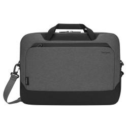 """Targus CypressEco notebook case 39.6 cm (15.6"""") Briefcase Black,Grey"""