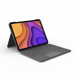 Logitech Folio Touch AZERTY French Grey Smart Connector